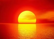 Waar komt de zon op